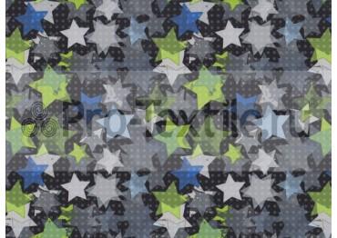 1711-139 Дюспа Принт Звезды 0181 салат