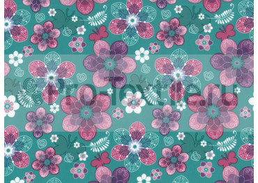 1711-138-Дюспа-Принт-Цветы-0179-зеленый