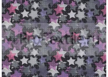 1711-139-Дюспа-Принт-Звезды-0181-розовый