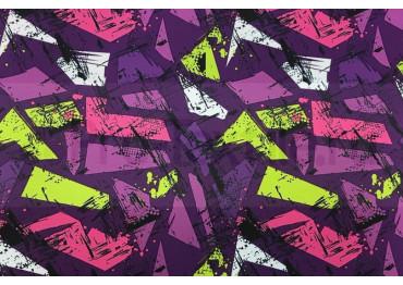 ОСКОЛКИ фиолетово-розовый 1811-128