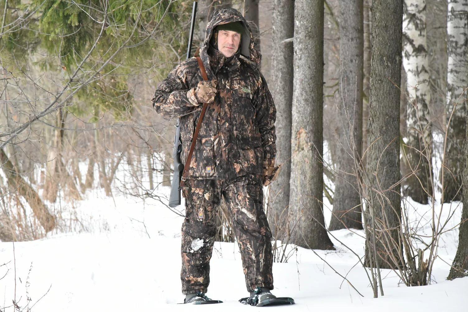 кюстюмы для охоты из ткани таффета